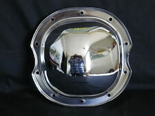 DIFFERENTIAL COVER CHROME STEEL GM 10 BOLT 71 - 81  INTERMEDIATE WITH OIL HOLE