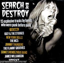 V/A - Search & Destroy (UK 15 Tk CD Album) (Sld) (Uncut Magazine)