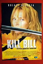 Kill Bill Uma Thurman 2003 Quentin Tarantino Serbian Movie Poster