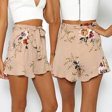 New Fashion Summer Shorts Womens Hot Pants Loose High Waist Beach Short Pants