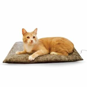 """K&H Pet Products Amazin' Thermo-Kitty Pad Gray 15"""" x 20"""" x 2"""""""