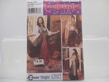 Simplicity 5359, Harem, Gypsy, Belly Dancer Costumes Pattern, Sizes 6-12