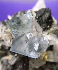 34g Fluorite & Quartz Specimen Mined In Hunan China