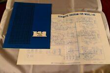 Original User Manual for Marantz Model 104 - with Receipt and Warranty card