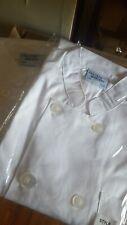 Short Sleeve Chef Coat Jacket Restaurant Uniform Men Women Cook Lot Of Two!