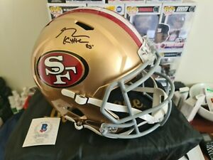 George Kittle San Francisco 49ers Signed Full Size Speed Replica Beckett...