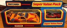 MATCHBOX SUPERKINGS IMSA MUSTANG RACING KS904 SUPER VALUE PACK FORD SUPER GT RED