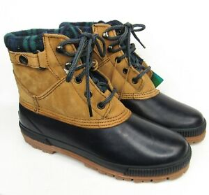 Northwest Territory Duck Boots Mens Size 9 Insulated Hunting Winter Work Plaid