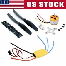 2212 1400KV Brushless Motor 30A ESC Mount Parts for RC helicopter Airplane US