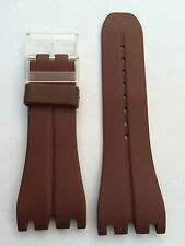 SWATCH CINTURINO WATCH ORIGINAL STRAP BAND UHR GOMMA RUBBER SPORT 30 MM SW306