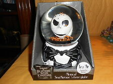 nightmare before christmas Jack halloween snow globe
