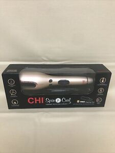"Chi Spin N Curl Ceramic Rotating Curler 1"" - Special Edition Rose Gold"