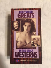 VHS HOLLYWOOD GREATS IN THE EARLY WESTERNS Questar Video 3 Tape Set