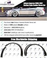 Subaru Impreza 2000-2007 Karlton Style Fender Flares,Wheel, ABS plastic 8 pieces