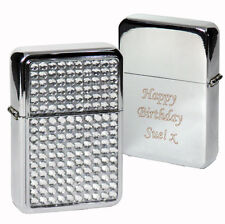 Personalised Diamante Lighter - Christmas, Birthday, Father's Day Gifts