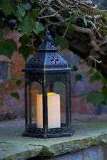 Smart Garden Moroccan Lantern Candle - Indoor/Outdoor Garden Light