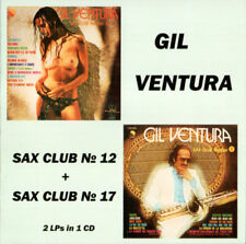 Gil Ventura – Sax Club Number 12 + Number 17 1st TIME ON CD!