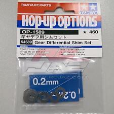 Tamiya 54589 RC Gear Diff Differential Shim Set For TB04/TA06/FF03/XV01/DB01