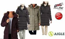 Zip Patternless Down Coats & Jackets for Women