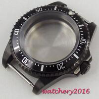 42MM Aluminiumlegierung Lünette Watch Case 2836 MIYOTA 8215 8205 821A Bewegung