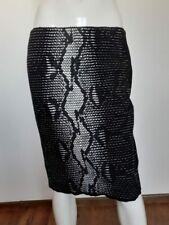 MARCCAIN black&white knee lenght skirt size N4