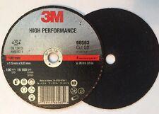 """3M    01994    4/""""x 1//32/""""x3//8/""""  abrasive cut-off wheel  10pcs"""