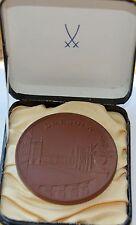 Pre war Meissen Porcelain Medal - DRESDEN, Germany, Origianl Box