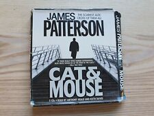 Cat & Mouse James Patterson CD Audiobook