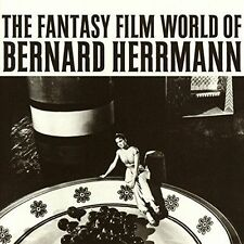 BERNARD HERRMANN (COMPOSER) - THE FANTASY FILM WORLD OF BERNARD HERRMANN NEW CD