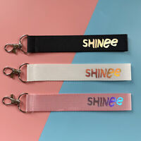 Kpop SHINee Fashion Phone Strap Laser Lanyard Pendant Charm Keyring Key Holder