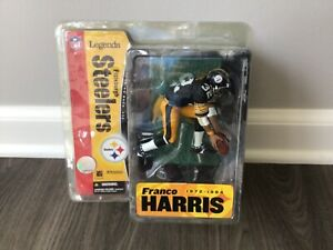FRANCO HARRIS-NFL-Pittsburgh Steelers-Mcfarlane Figure-Legends-Sealed/2005