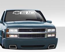 """S10 CHEVY S-10 WINDSHIELD WINDOW DECAL STICKER TRUCK banner 26"""" SUN STRIP"""