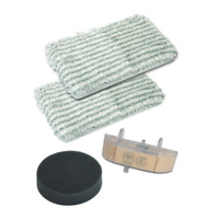 ROWENTA KIT 2x PANNO + FILTRO ANTI CALCARE + SPUGNA CLEAN & STEAM RY7535 RY7557