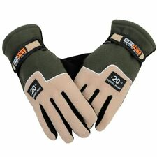 Fleece Full Finger Gloves Outdoor Winter Breathable Cycling Snowboard Mitten New