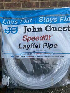 John Guest Speedfit Layflat Barrier Pipe 10mm/15mm/22 New Polybutylene Plumbing