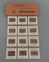 VTG 1960's Souvenir Set of 12 Colour Slides London Guards  Kodak Toomey Bros