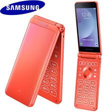 """✅ SAMSUNG GALAXY FOLDER 2 SM-G160N 3.8"""" QUAD-CORE 32GB UNLOCKED PHONE (CORAL) ☑️"""