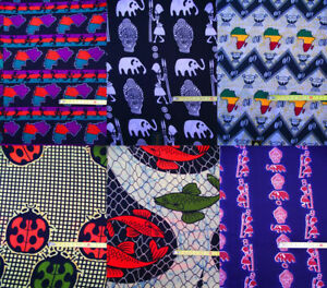 Echte Afrika Stoffe Meterware Ethno Dekoration Stoff Wax Print Dekostoff