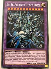 YUGIOH Blue-Eyes Alternative Ultimate Dragon TN19 EN001 Secret Prism Rare 1st Ed