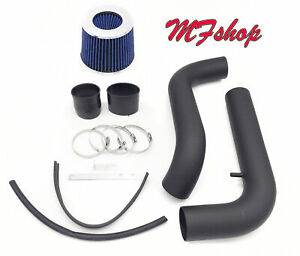 Coated Black-Blue For 94-01 Acura Integra LS RS GS SE 1.8L L4 Cold Air Intake
