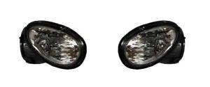 For 1998-2004 Dodge Intrepid Fog Light Lamp Assembly PAIR Left Side + Right Side