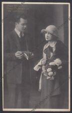 PINA MENICHELLI 26 LIVIO PAVANELLI ATTRICE ACTRESS ATTORE ACTOR CINEMA MUTO 1925