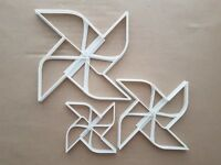 Pinwheel Catherine Wind Toy Shape Cookie Cutter Dough Biscuit Sharp