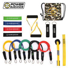 16 PCs POWER GUIDANCE Super Power Manual Rubber Fitness Yoga Gym Training