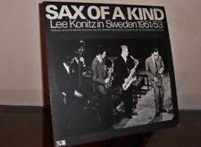 "Lee Konitz - ""Sax of a Kind"" Lee Konitz in Sweden 1951/53 Japan  Reissue SJ18-1"
