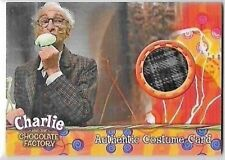 CHARLIE & THE CHOCOLATE FACTORY DAVID KELLY AS GRANDPA JOE PROP CARD 241 of 530
