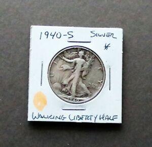 **  1940 - S  Walking Liberty Half Dollar ** SILVER COIN **