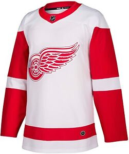 Adidas Detroit Red Wings Authentic NHL Red/White Hockey Jersey - 46