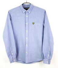 Lyle & Scott Hombre Casual Camisa DZ13 MANGA LARGA TALLA S
