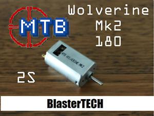 Wolverine Mk2 MTB 2s 6V 180 for Nerf Blaster Motor Rapidstrike, Stryfe, Modulus